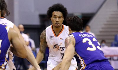 Tiebreaker Times Chris Newsome is Meralco's best player on both ends Basketball News PBA  PBA Season 45 Norman Black Meralco Bolts Coronavirus Pandemic Chris Newsome