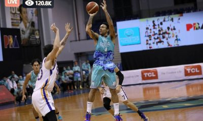 Tiebreaker Times Calvin Abueva grateful to fans as Phoenix-NLEX game draws 720K online views Basketball News PBA  Phoenix Super LPG Fuel Masters PBA Season 45 Coronavirus Pandemic Calvin Abueva