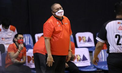 Tiebreaker Times Though frustrated, Pido Jarencio says life must go on for NorthPort Basketball News PBA  Pido Jarencio PBA Season 45 Northport Batang Pier Coronavirus Pandemic