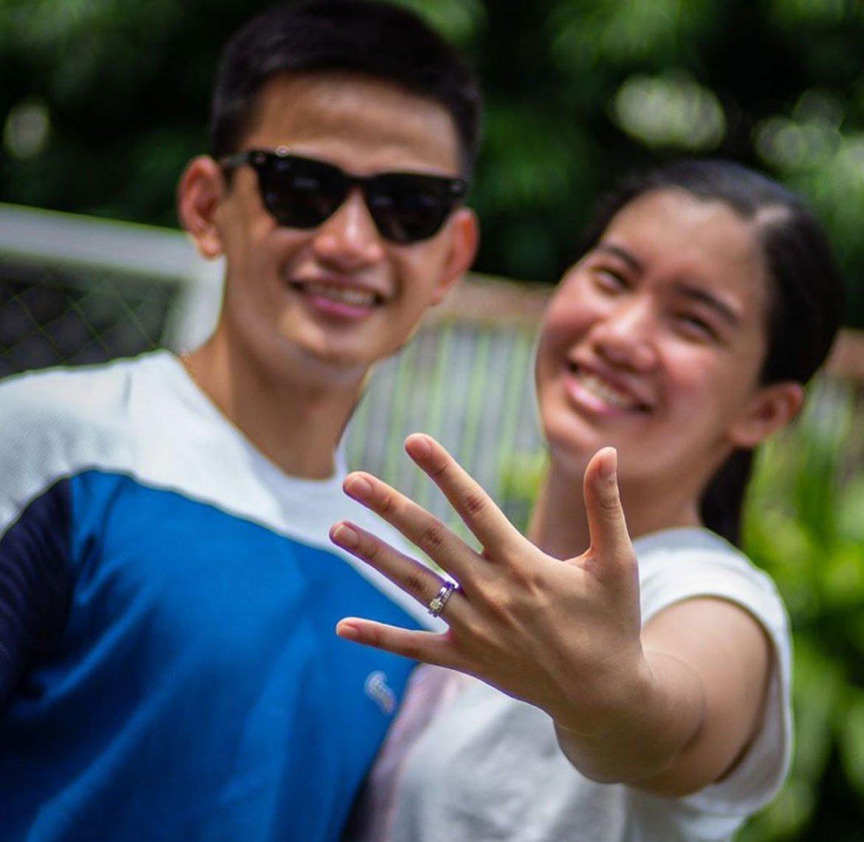 Tiebreaker Times Jia Morado says 'yes' to Miguel de Guzman News PVL Volleyball  Miguel De Guzman Jia Morado Creamline Cool Smashers 2020 PVL Season