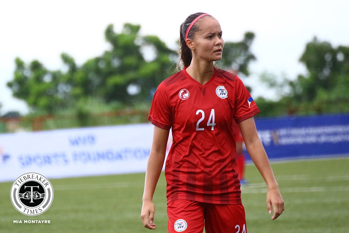 Philippine-Womens-Naftional-Football-Team-PWNFT-Graversen Five PWNFT members continue pro careers overseas with new clubs Football News  - philippine sports news