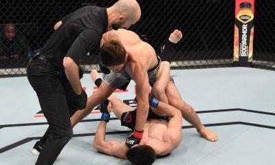 Tiebreaker Times Mark Striegl suffers brutal KO loss in UFC debut Mixed Martial Arts News UFC  UFC Fight Night: Ortega vs. The Korean Zombie Said Nurmagomedov Mark Striegl