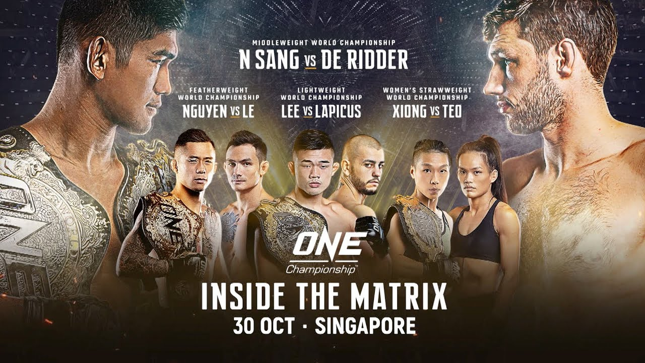 ahlp3alshfg Inside The Matrix is ONE's gift to fans, says Chatri Sityodtong Mixed Martial Arts News ONE Championship  - philippine sports news