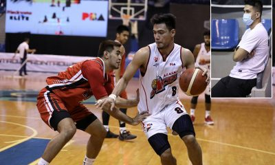 Tiebreaker Times Barkley Eboña made sure to send Kuya KRacs home victorious Basketball News PBA  PBA Season 45 Kevin Racal Coronavirus Pandemic Barkley Ebona Alaska Aces