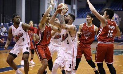 Tiebreaker Times Alaska, Blackwater to be tested as 'false positive' ref officiated game Basketball News PBA  Willie Marcial PBA Season 45 Coronavirus Pandemic Blackwater Elite Alaska Aces