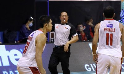 Tiebreaker Times PBA refs to work double time as workforce cut in half Basketball News PBA  Willie Marcial PBA Season 45 Jeffrey Tantay Coronavirus Pandemic