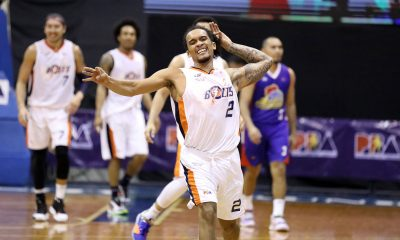 Tiebreaker Times Trevis Jackson performs for Norman Black after being given big minutes Basketball News PBA  Trevis Jackson PBA Season 45 Norman Black Meralco Bolts Coronavirus Pandemic