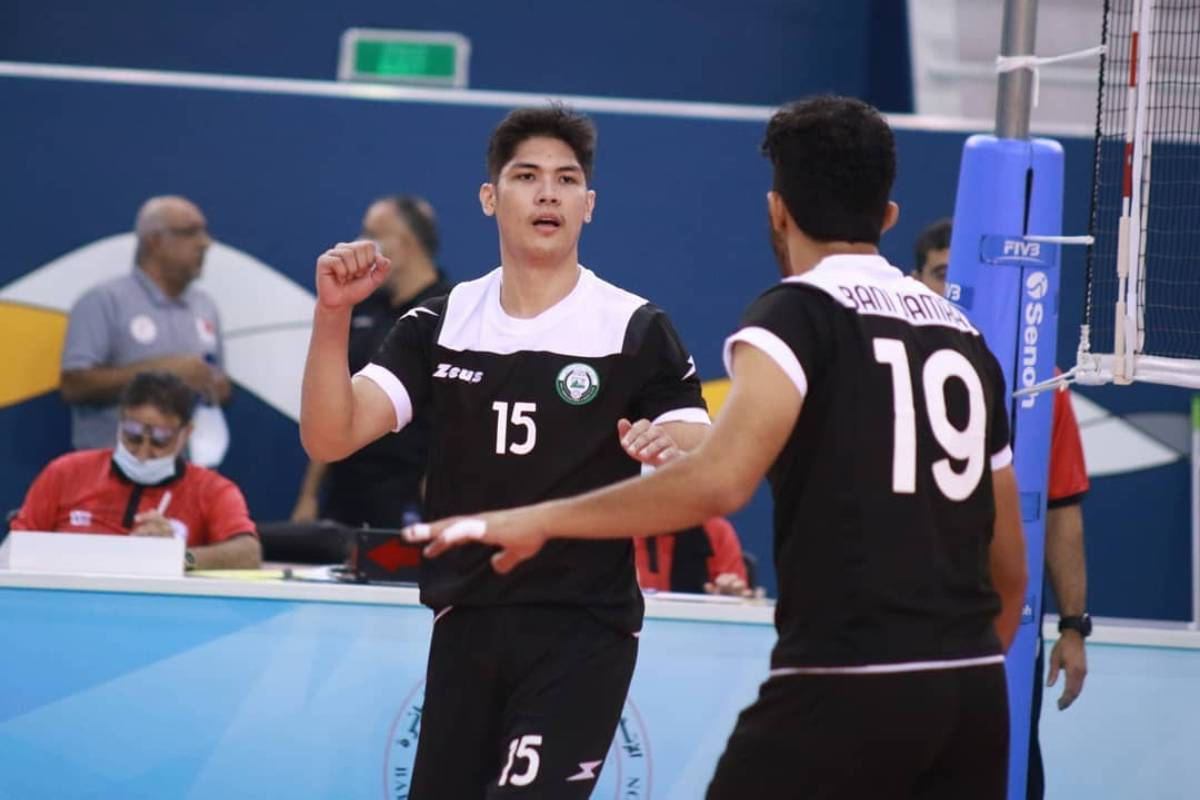 2020-21-Bahrain-Volleyball-Baji-Jamra-vs-Al-Ahli-Marck-Espejo 2020 was the year of the Overseas Filipino Athlete 2020 Tokyo Olympics Bandwagon Wire Basketball Football Golf Volleyball  - philippine sports news