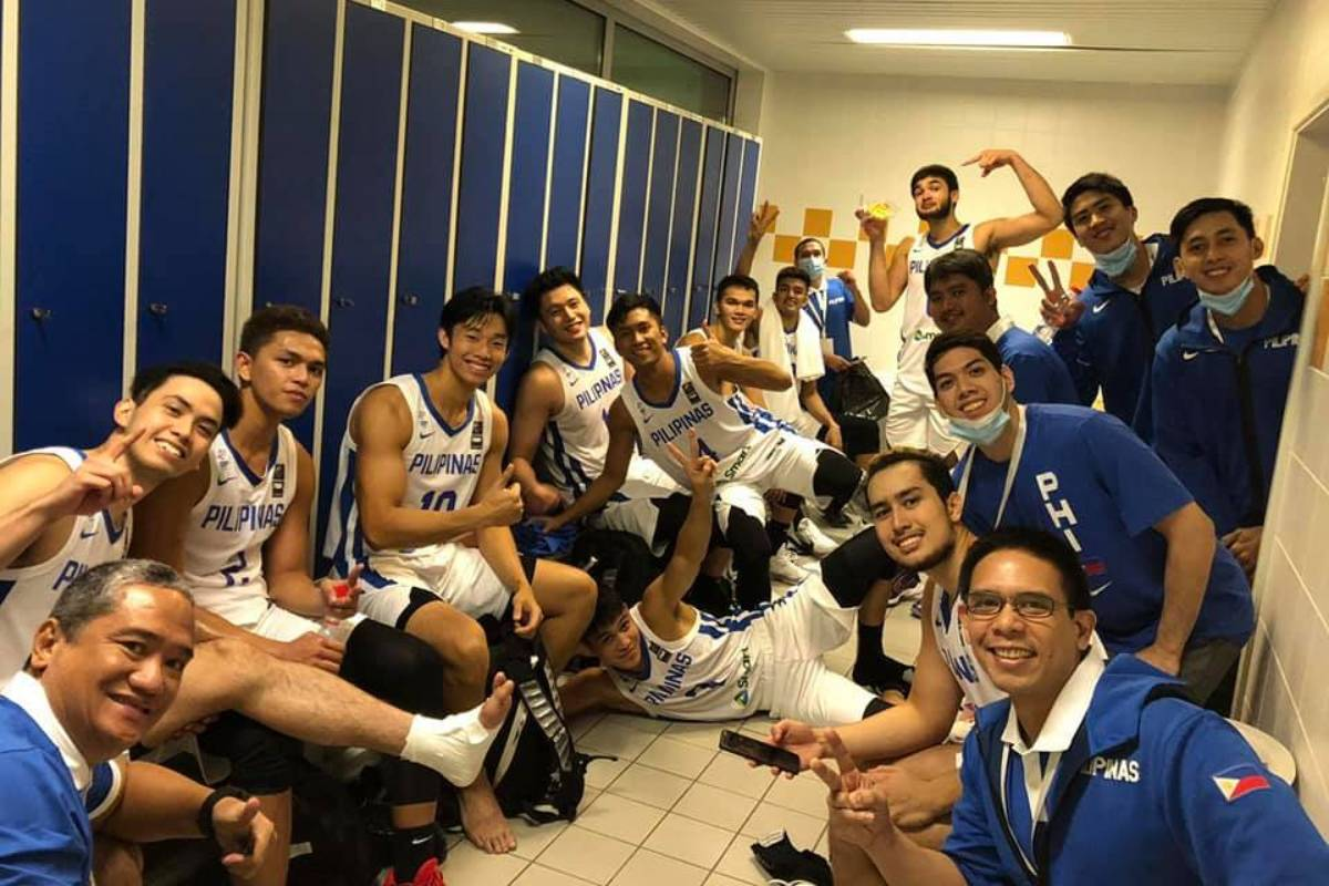 2021-FIBA-Asia-Cup-Qualifiers-Gilas-celebration The Inside Story of Gilas' Calambubble 2021 FIBA Asia Cup Basketball Gilas Pilipinas News  - philippine sports news