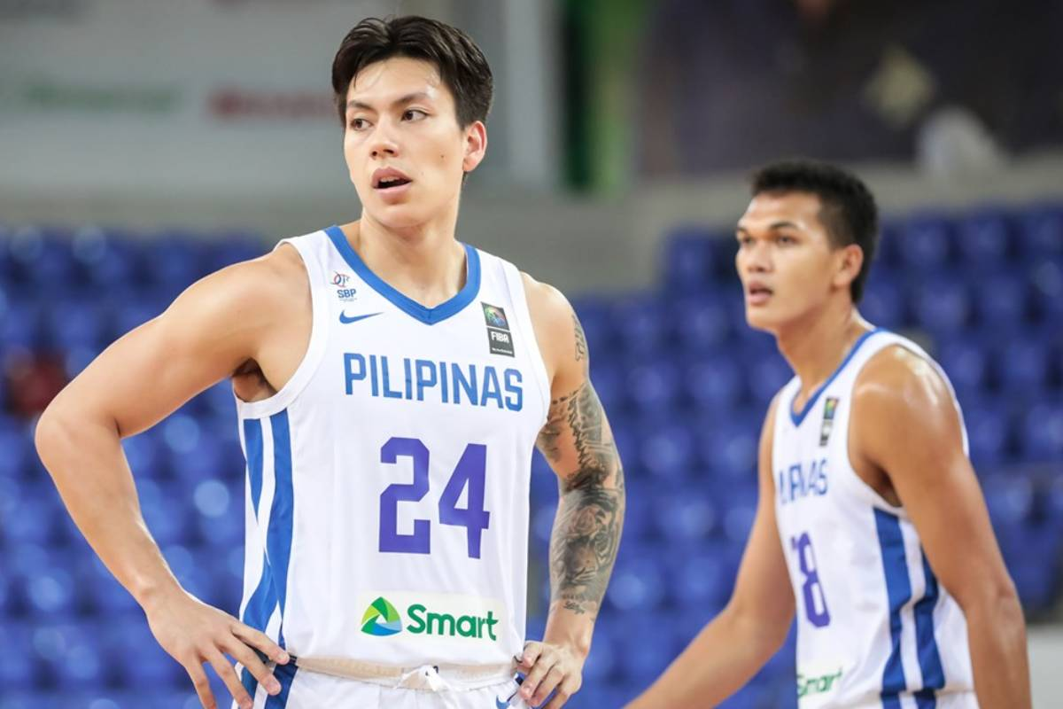 2021-FIBA-Asia-Cup-Qualifiers-Gilas-def-Thailand-Dwight-RAMOS-X-Justine-Baltazar Baldwin says defiant Gilas out to give Serbia a run for its money 2020 Tokyo Olympics Basketball Gilas Pilipinas News  - philippine sports news