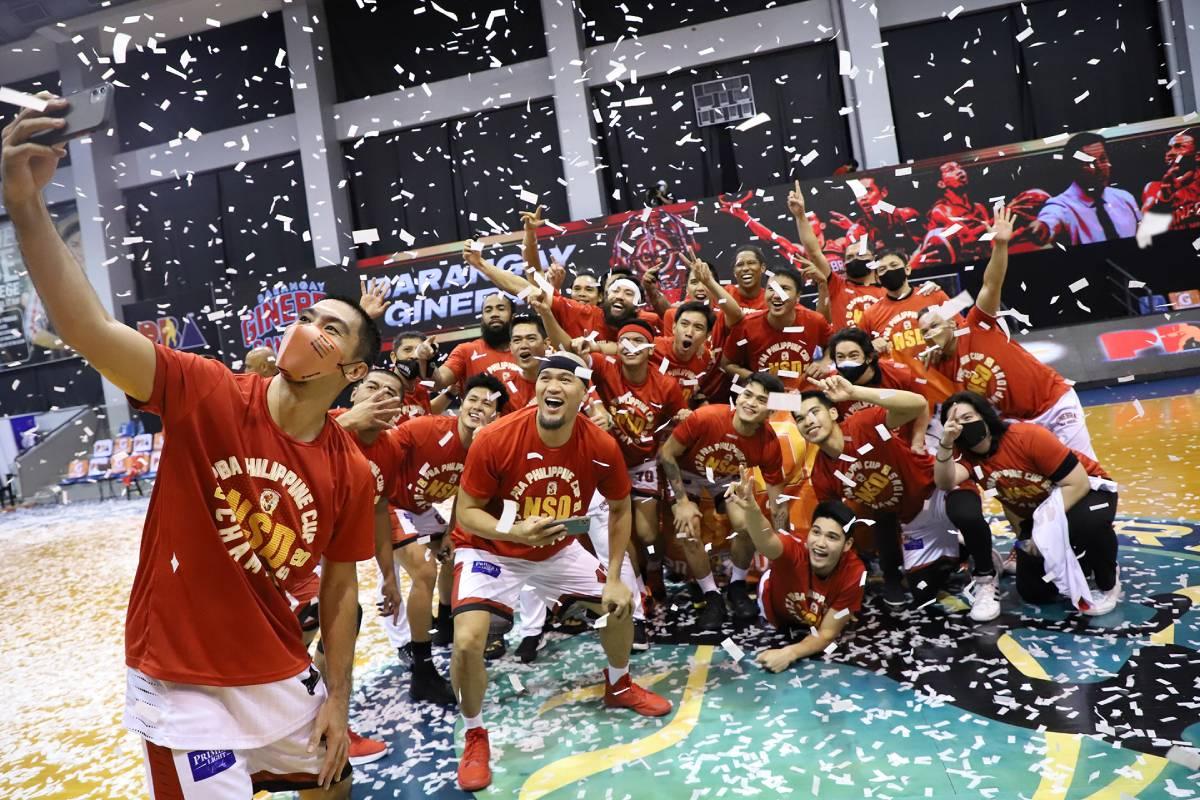 PBA-Season-45-Finals-Game-Five-Ginebra-LA-Tenorio-selfie Look back on PBA Bubble season -- from Blackwater almost leaving to Ginebra's triumph Bandwagon Wire Basketball PBA  - philippine sports news