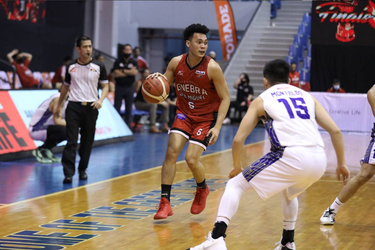 PBA-Season-45-Finals-Game-Two-TNT-vs-Ginebra-Scottie-Thompson Besides Kiefer and Scottie, here are some PBA stars who have shoe deals News PBA  - philippine sports news
