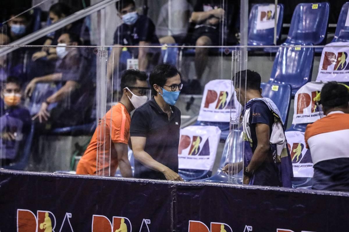 PBA-Season-45-Vince-Dizon VisMin explains 'fans' inside Alcantara bubble during opening Basketball News VisMin Super Cup  - philippine sports news