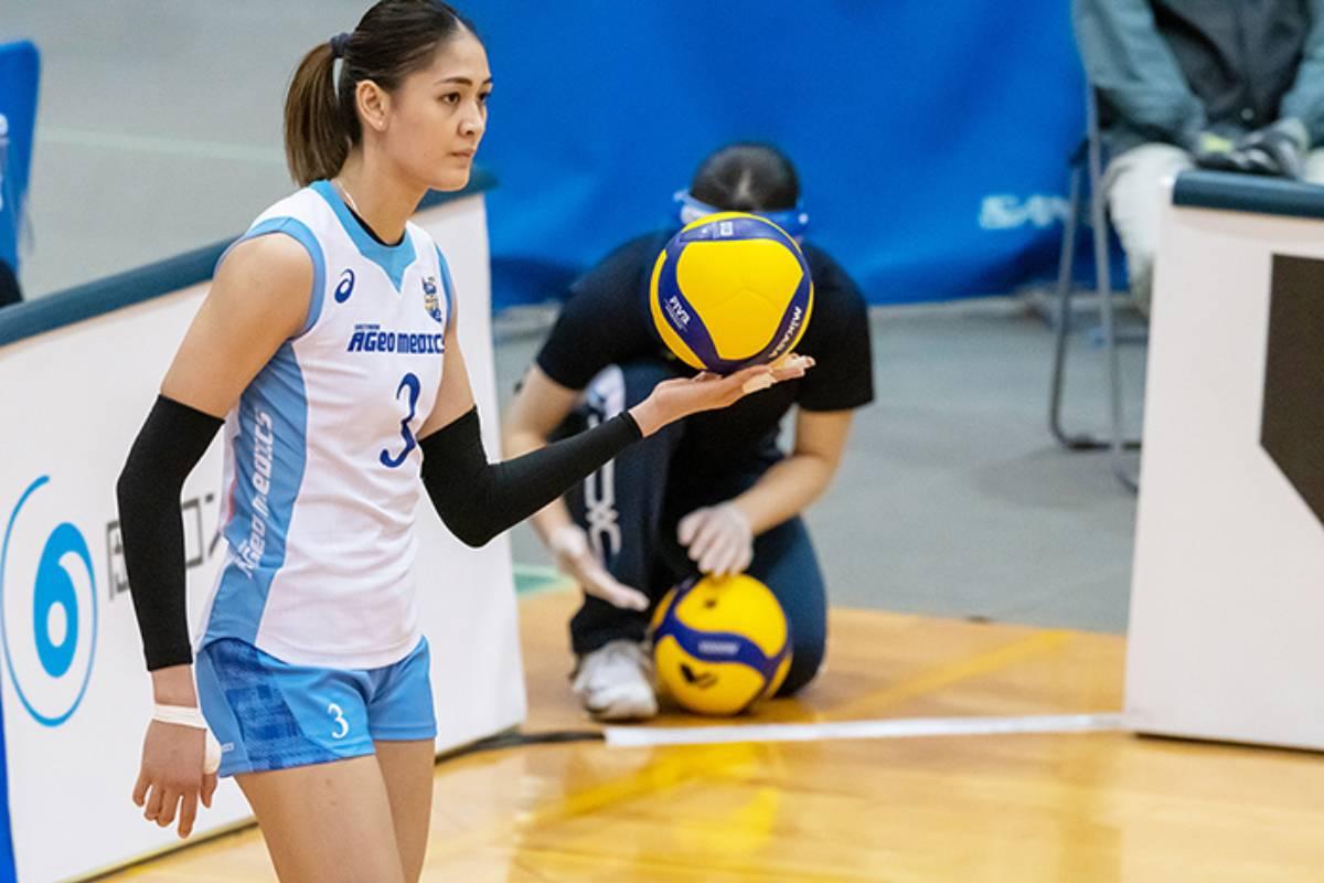 2020-21-VLeague-Season-Ageo-Medics-Jaja-Santiago-2 Suzara sees more Filipino volleyball players playing overseas soon News Volleyball  - philippine sports news