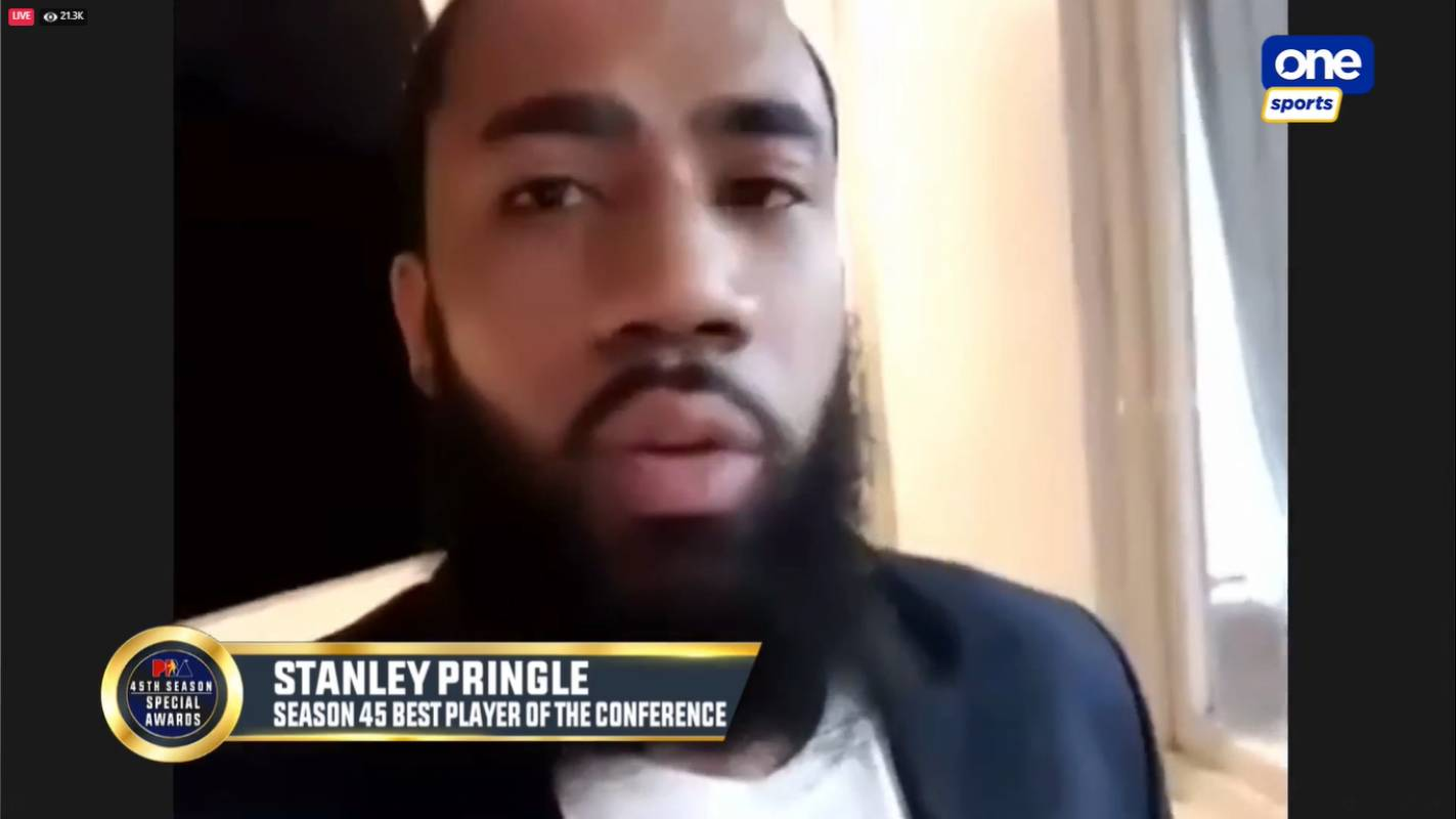 PBA-Season-45-Best-Player-of-the-Conference-Stanley-Pringle Behind the scenes of PBA's first-ever online Awards Night Basketball News PBA  - philippine sports news