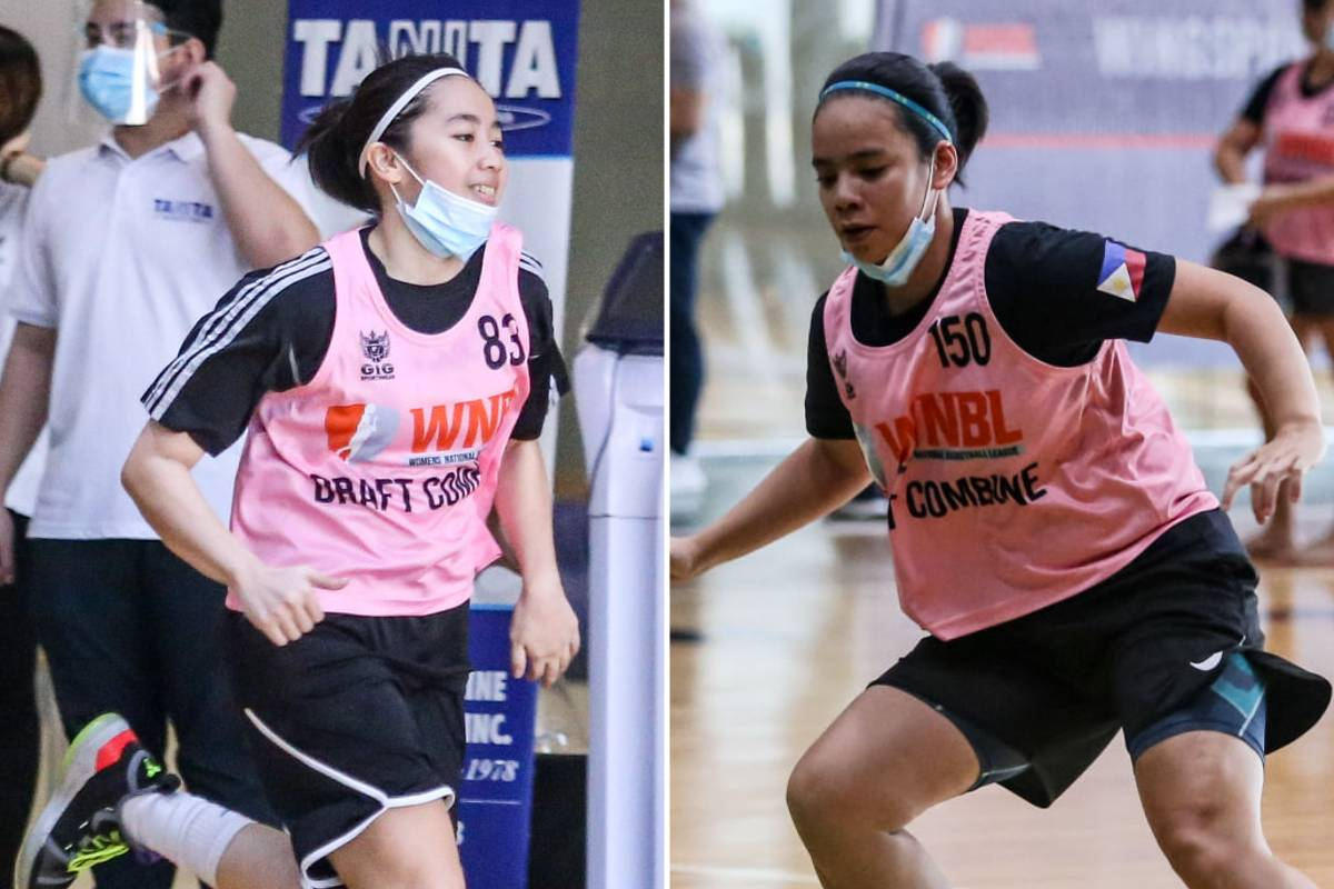 2020-WNBL-Combine-Camille-Claro-x-Khate-Castillo Glutagence owner eyeing to pick 'Splash Sisters' in WNBL Draft Basketball NBL News  - philippine sports news