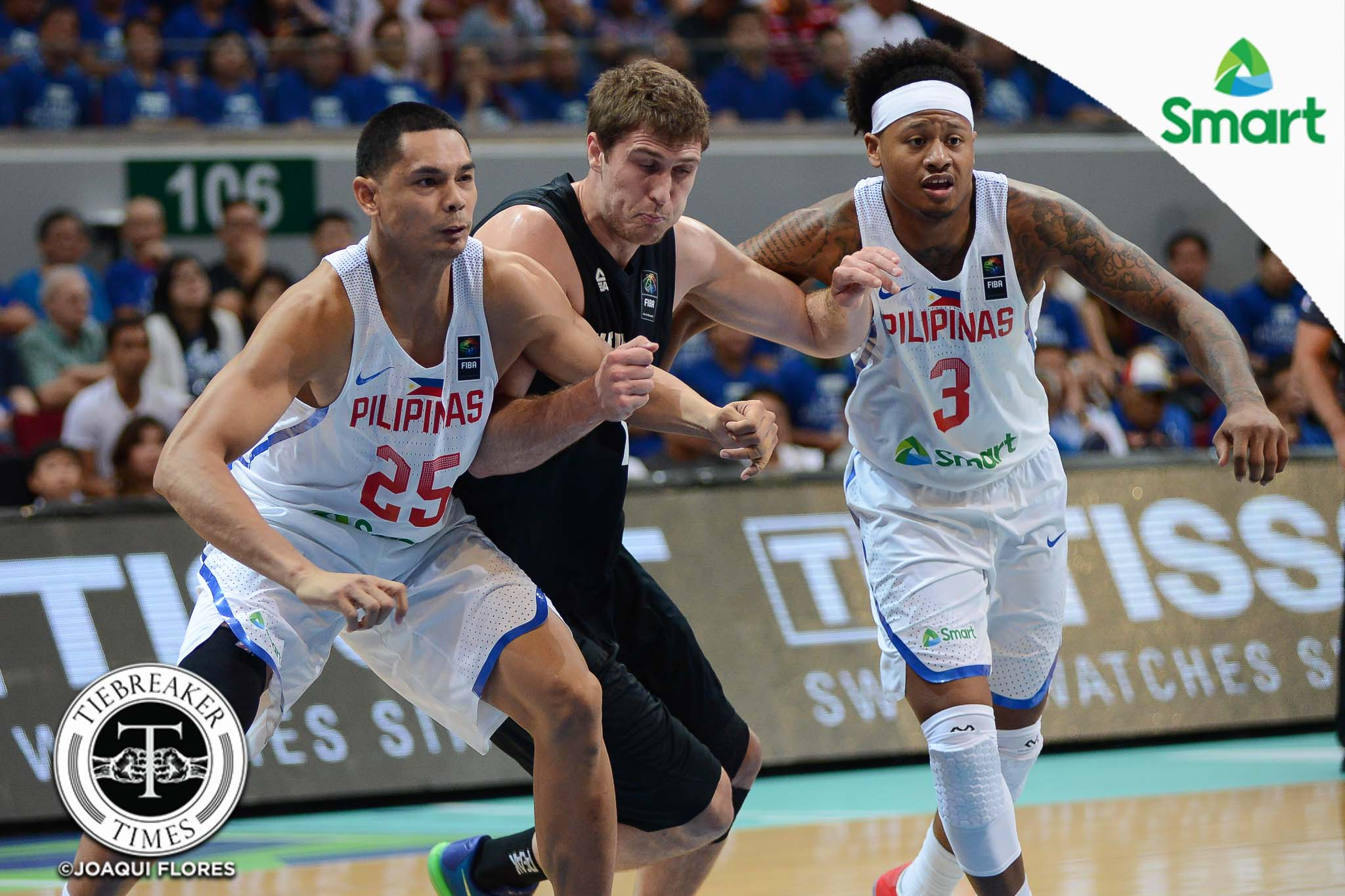 FIBA-OQT-Day-2-Philippines-vs.-New-Zealand-Japeth-Aguilar-Ray-Parks-7408 Chris Ross hopes Gilas gets PBA players it needs for OQT 2020 Tokyo Olympics Basketball Gilas Pilipinas News PBA  - philippine sports news
