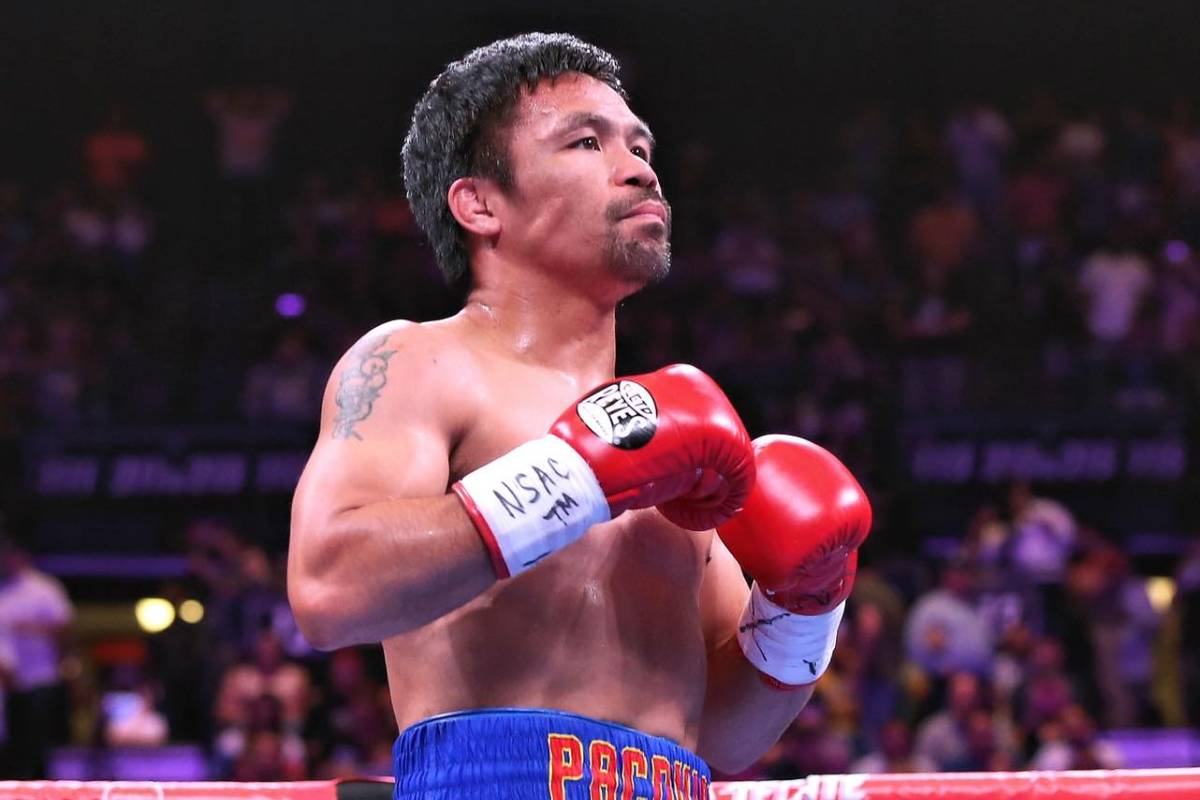 FILE-PHOTO-Manny-Pacquiao Midlife Halftime Olympic Odyssey: Hidilyn Diaz cements place in pantheon of champions 2020 Tokyo Olympics Bandwagon Wire Weightlifting  - philippine sports news