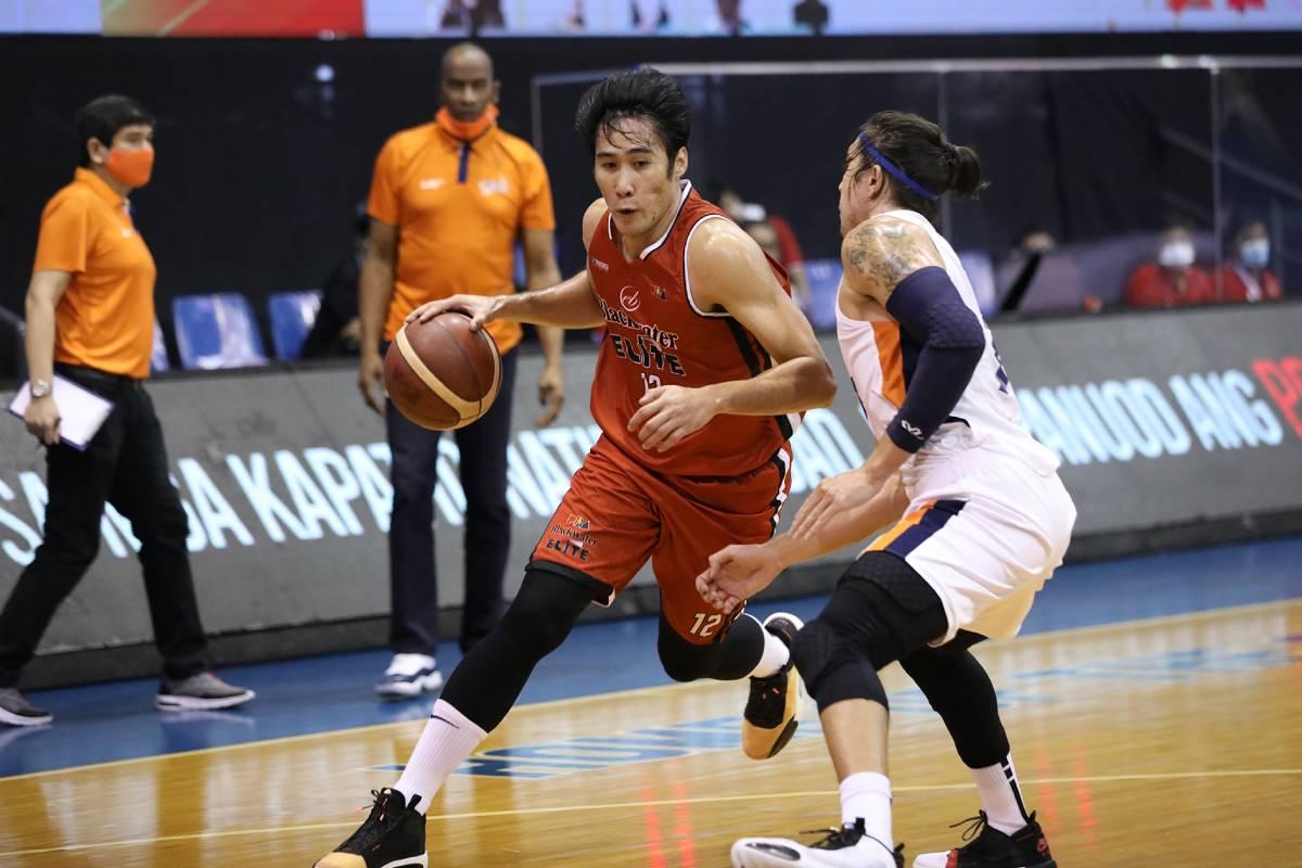 PBA-Season-45-Meralco-def-Blackwater-Mac-Belo Leo Austria believes PBA playing field has levelled Basketball News PBA  - philippine sports news