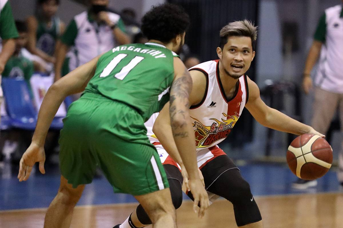 PBA-Season-45-San-Miguel-def-Terrafirma-Gelo-Alolino Russel Escoto was mourning 'personal loss' when he was traded to Terrafirma Basketball News PBA  - philippine sports news