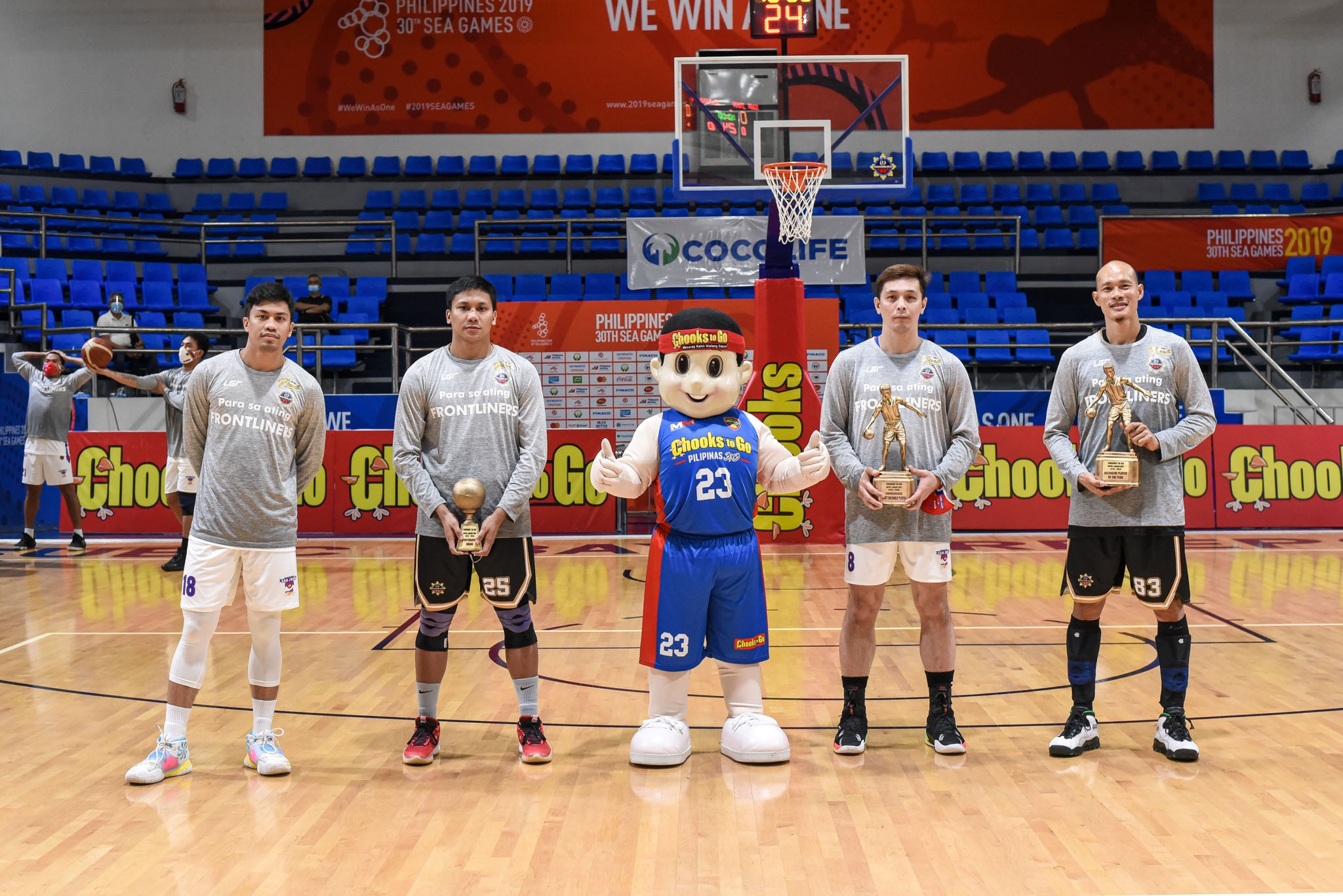 2019-21-Chooks-to-Go-MPBL-Lakan-Season-Awarding-Ceremony-Group-Photo-Mike-Ayonayon-x-Billy-Robles-x-John-Wilson-x-Mark-Yee John Wilson crowned Chooks-to-Go MPBL Lakan Season MVP Basketball MPBL News  - philippine sports news