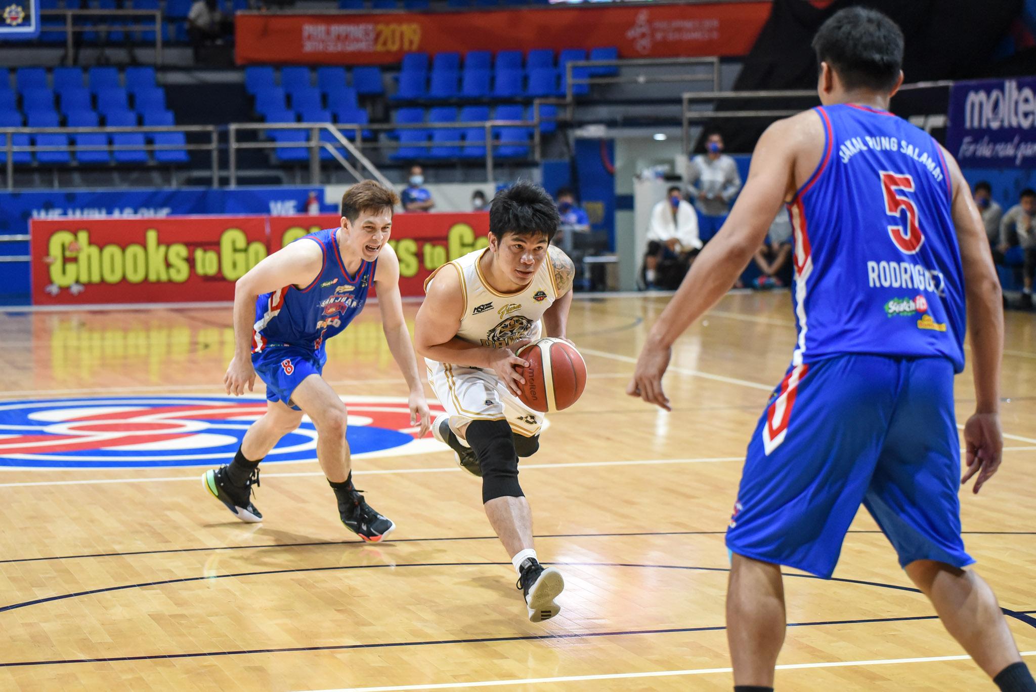 2021-Chooks-to-Go-MPBL-Lakan-Finals-Game-One-Davao-Occi-def-San-Juan-Bonbon-Custodio Calo, Custodio earn praise from Davao Occi, Dillinger for late-game heroics Basketball MPBL News  - philippine sports news