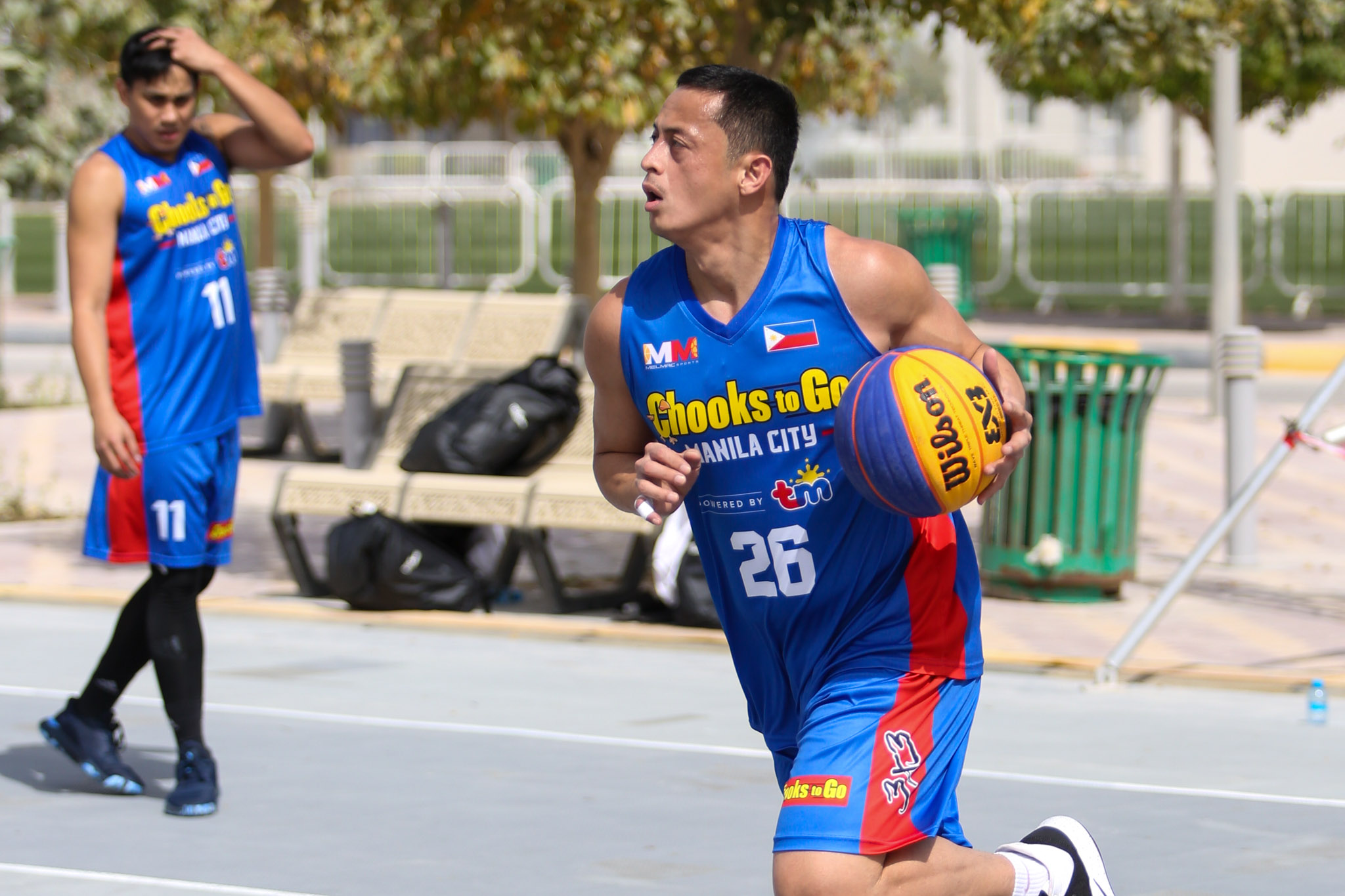 2021-FIBA-3X3-Doha-Masters-Manila-Chooks-first-practice-Chico-Lanete Aldin Ayo out to prove himself once more 3x3 Basketball Chooks-to-Go Pilipinas 3x3 News  - philippine sports news