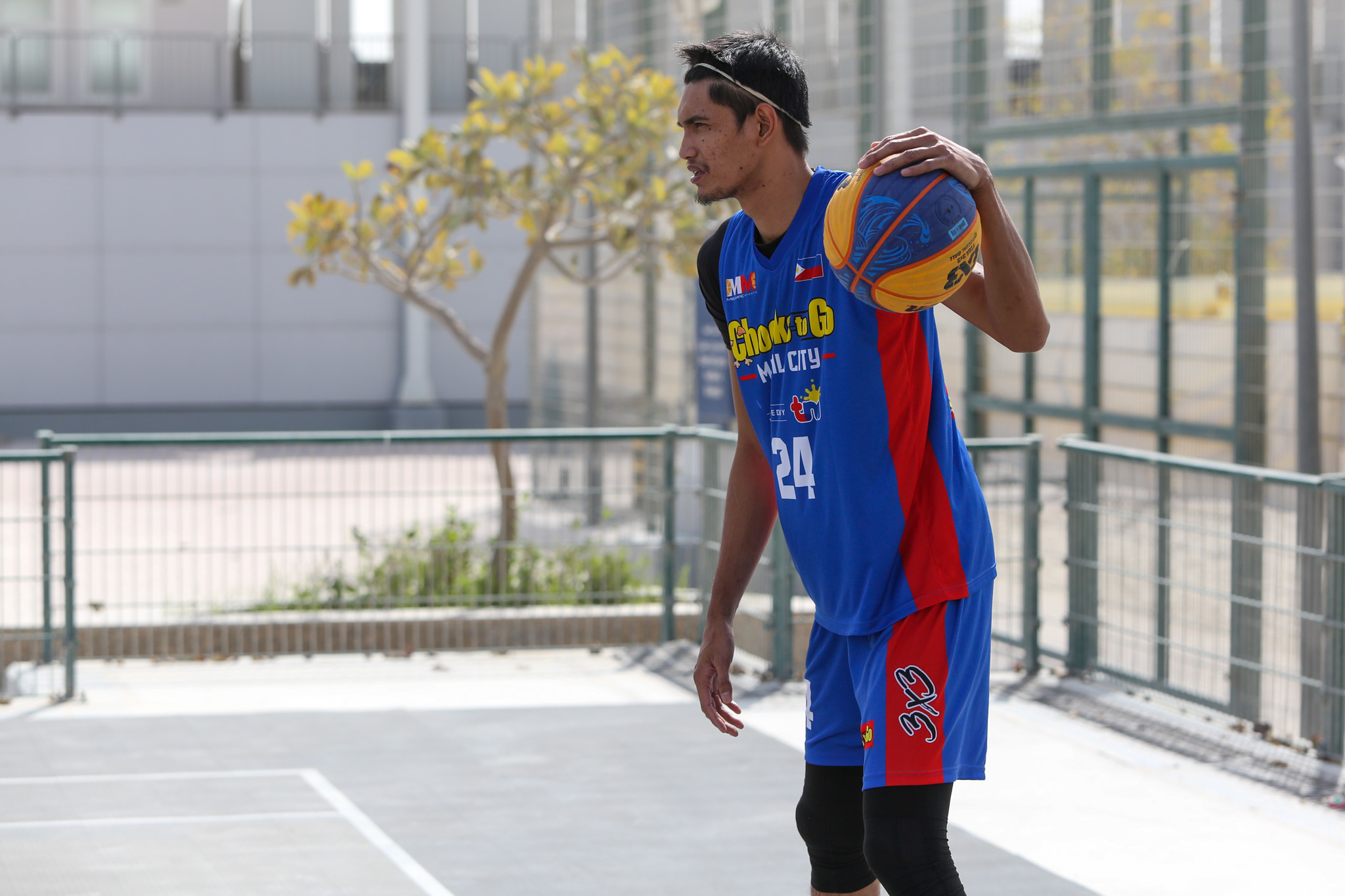 2021-FIBA-3X3-Doha-Masters-Manila-Chooks-first-practice-Dennis-Santos Aldin Ayo out to prove himself once more 3x3 Basketball Chooks-to-Go Pilipinas 3x3 News  - philippine sports news