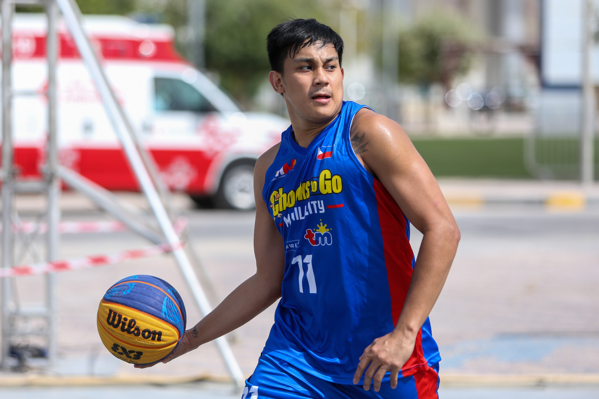 2021-FIBA-3X3-Doha-Masters-Manila-Chooks-first-practice-Mac-Tallo Aldin Ayo out to prove himself once more 3x3 Basketball Chooks-to-Go Pilipinas 3x3 News  - philippine sports news