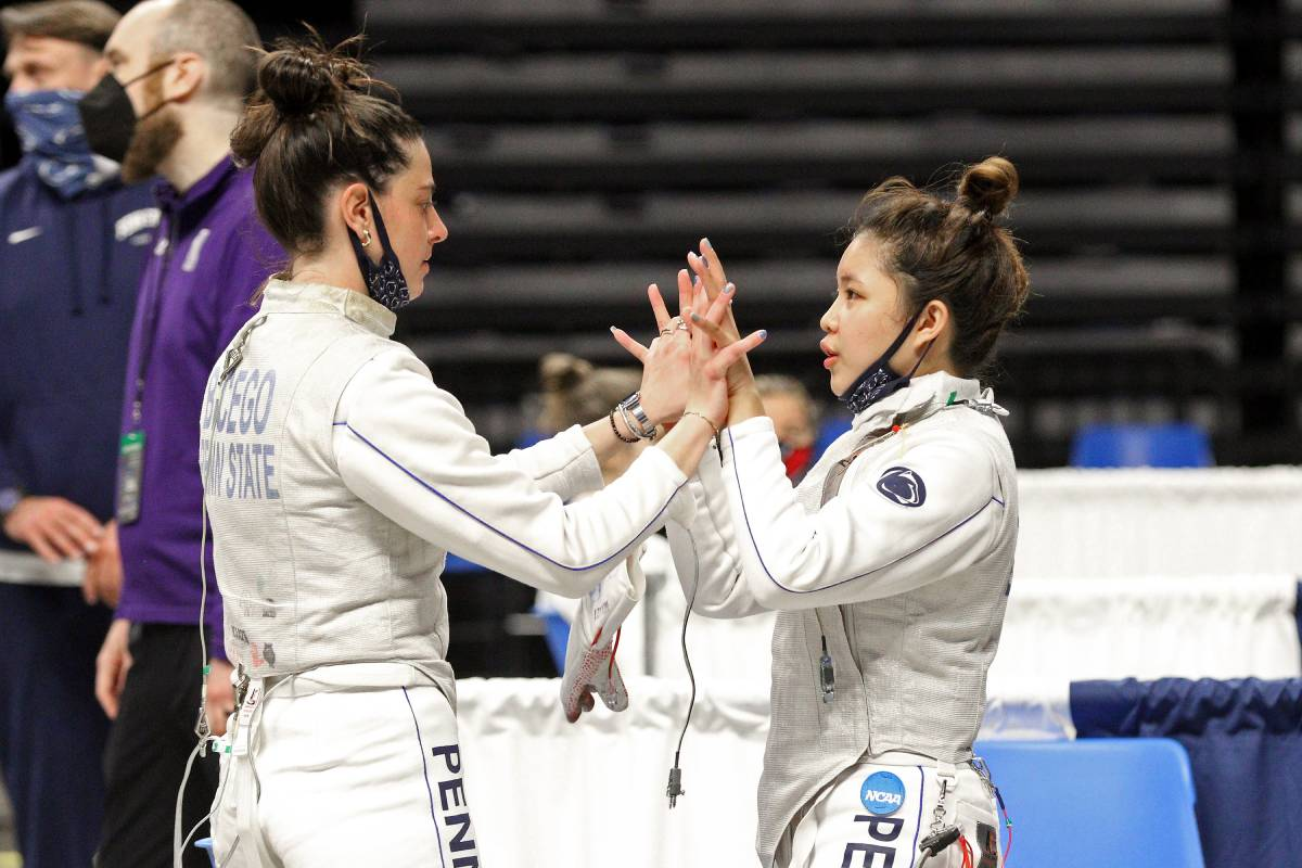 2021-ncaa-fencing-upenn-samantha-catantan Sam Catantan caps impressive rookie year with NCAA Fencing bronze Fencing News  - philippine sports news