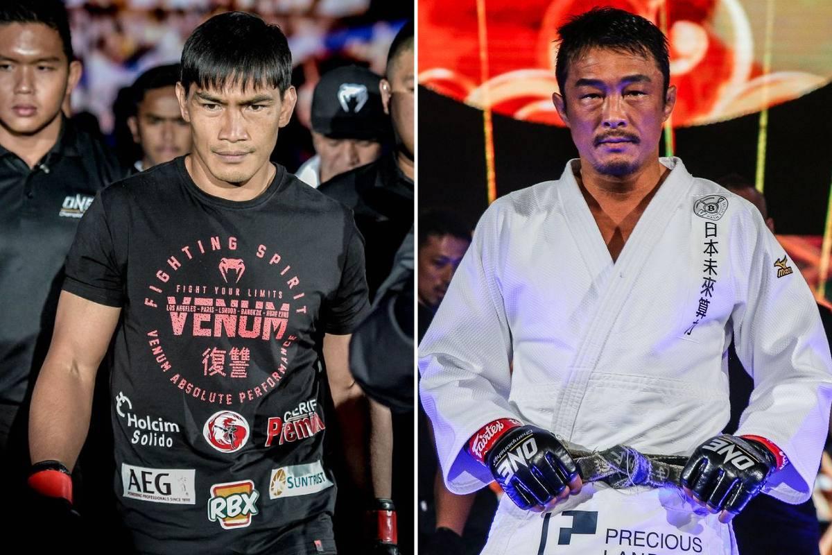 ONE-on-TNT-Eduard-Folayang-vs-Yoshihiro-Akiyama Folayang says shift from Akiyama to Aoki affected his camp Mixed Martial Arts News ONE Championship  - philippine sports news