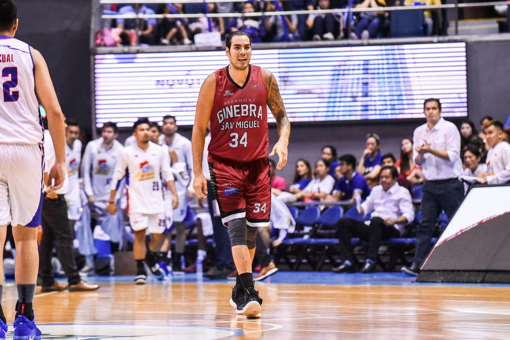 PBA-Season-46-Ginebra-Christian-Standhardinger Leo Austria believes PBA playing field has levelled Basketball News PBA  - philippine sports news