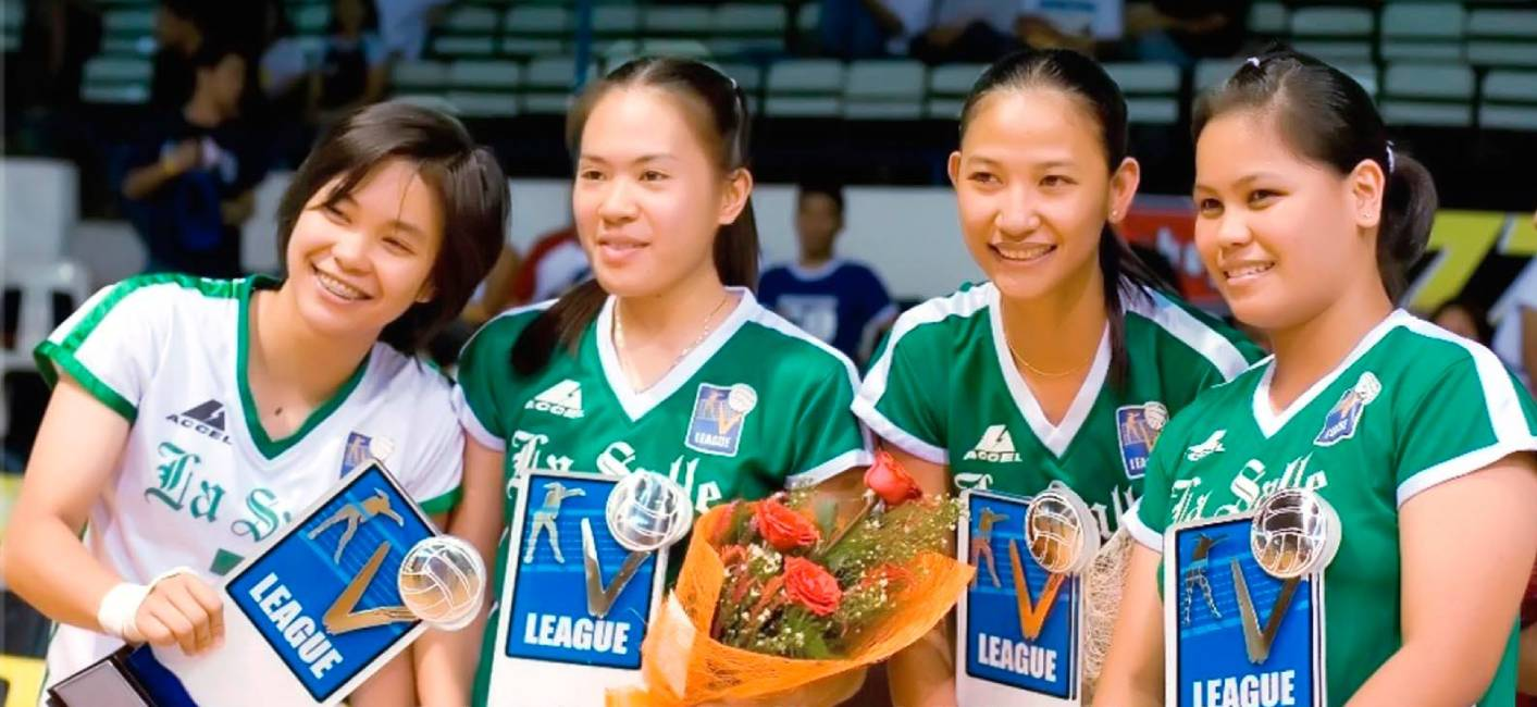 SVL-La-Salle-Lady-Spikers The History of Ramil De Jesus, La Salle, and the V-League News PSL PVL Volleyball  - philippine sports news