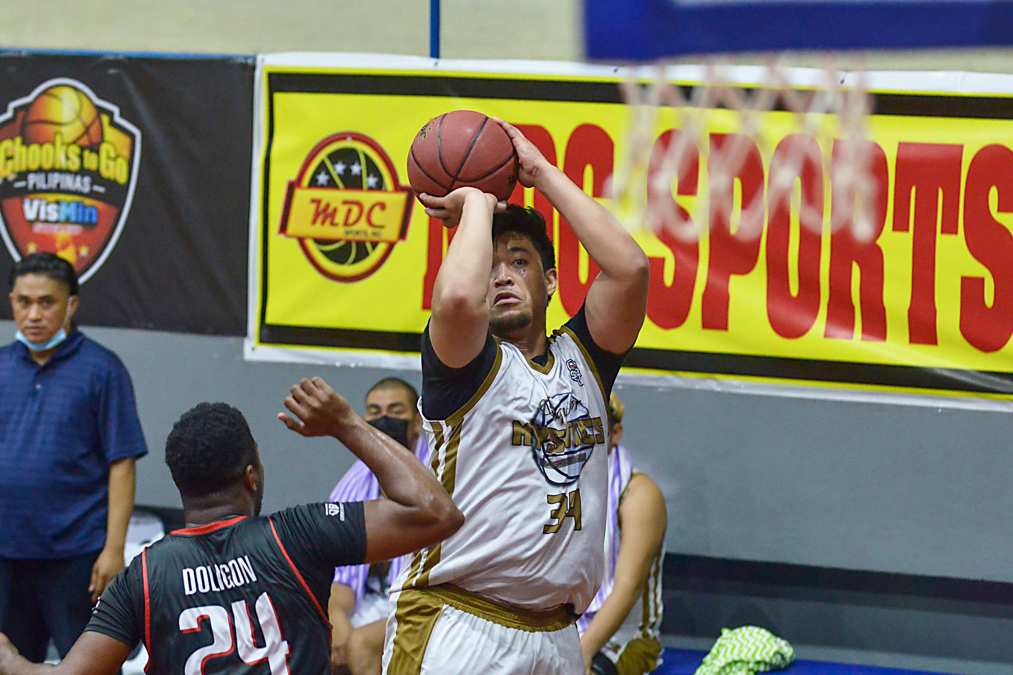 2020-Chooks-to-Go-Pilipinas-VisMin-Super-Cup-Visayas-Leg-Siquijor-def-Dumaguete-Ryan-Buenafe Ryan Buenafe has no regrets as he fulfilled his duty as a brother Basketball News VisMin Super Cup  - philippine sports news