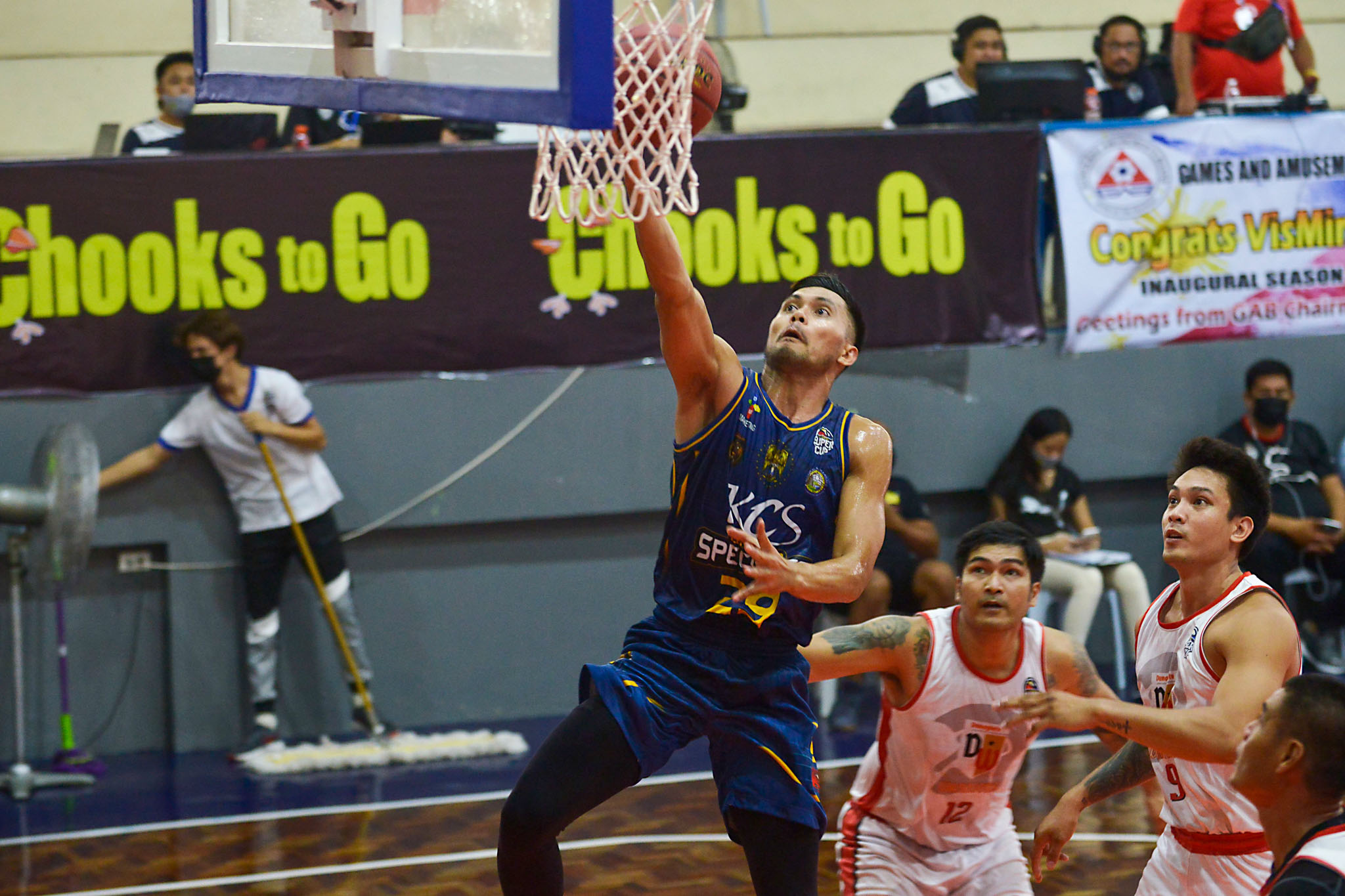 2021-Chooks-to-Go-Pilipinas-VisMin-Super-Cup-Visayas-Dumaguete-vs-KCS-Mandaue-Gryann-Mendoza Gryann Mendoza has no regrets with PBA career: 'Blessing sa akin yung pinagdaanan ko' Basketball News VisMin Super Cup  - philippine sports news