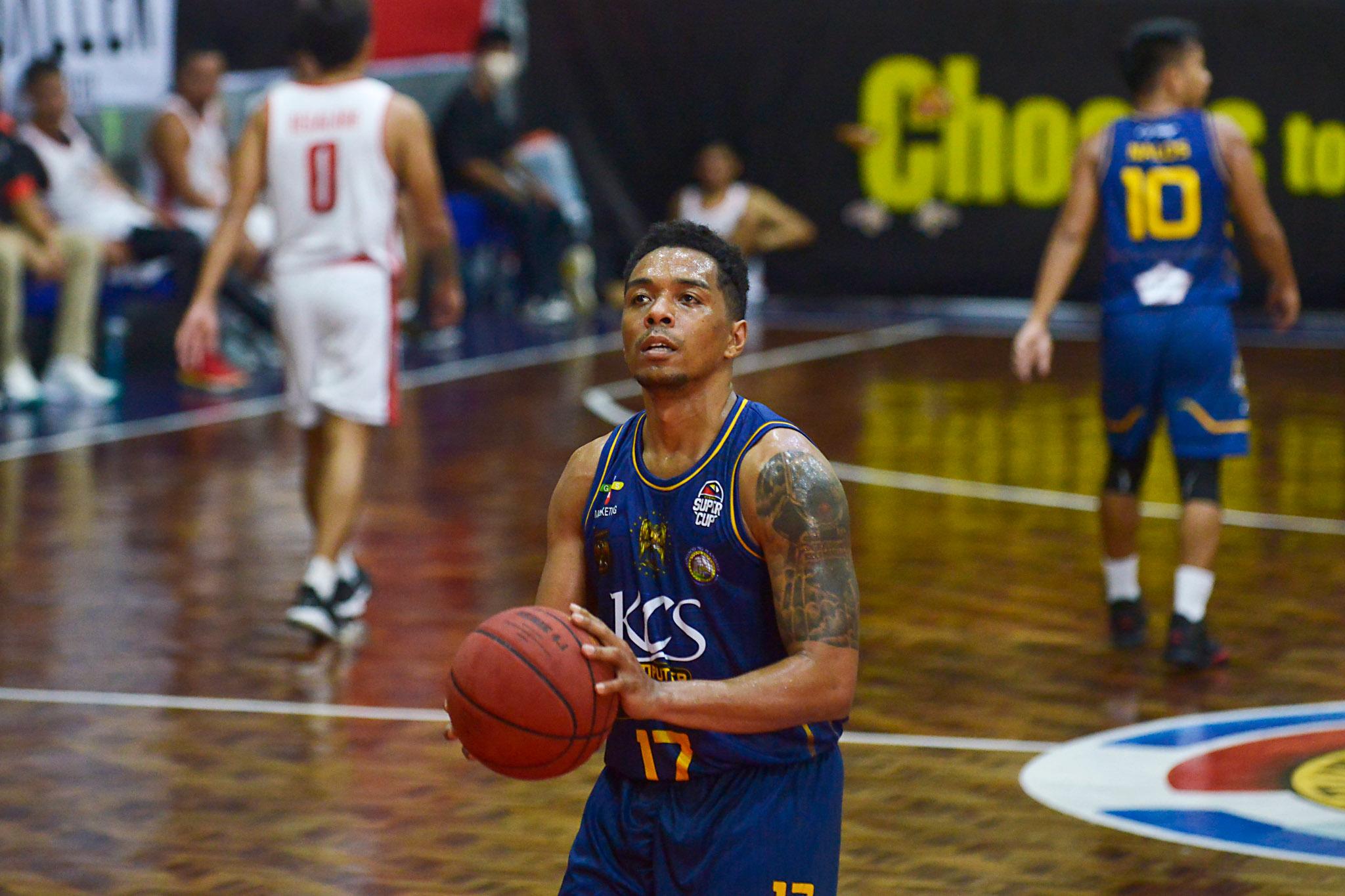 2021-Chooks-to-Go-VisMin-Cup-Dumaguete-vs-Mandaue-Ping-Exciminiano Gryann Mendoza grateful to Ping Exciminiano for pushing him in Mandaue Basketball News VisMin Super Cup  - philippine sports news