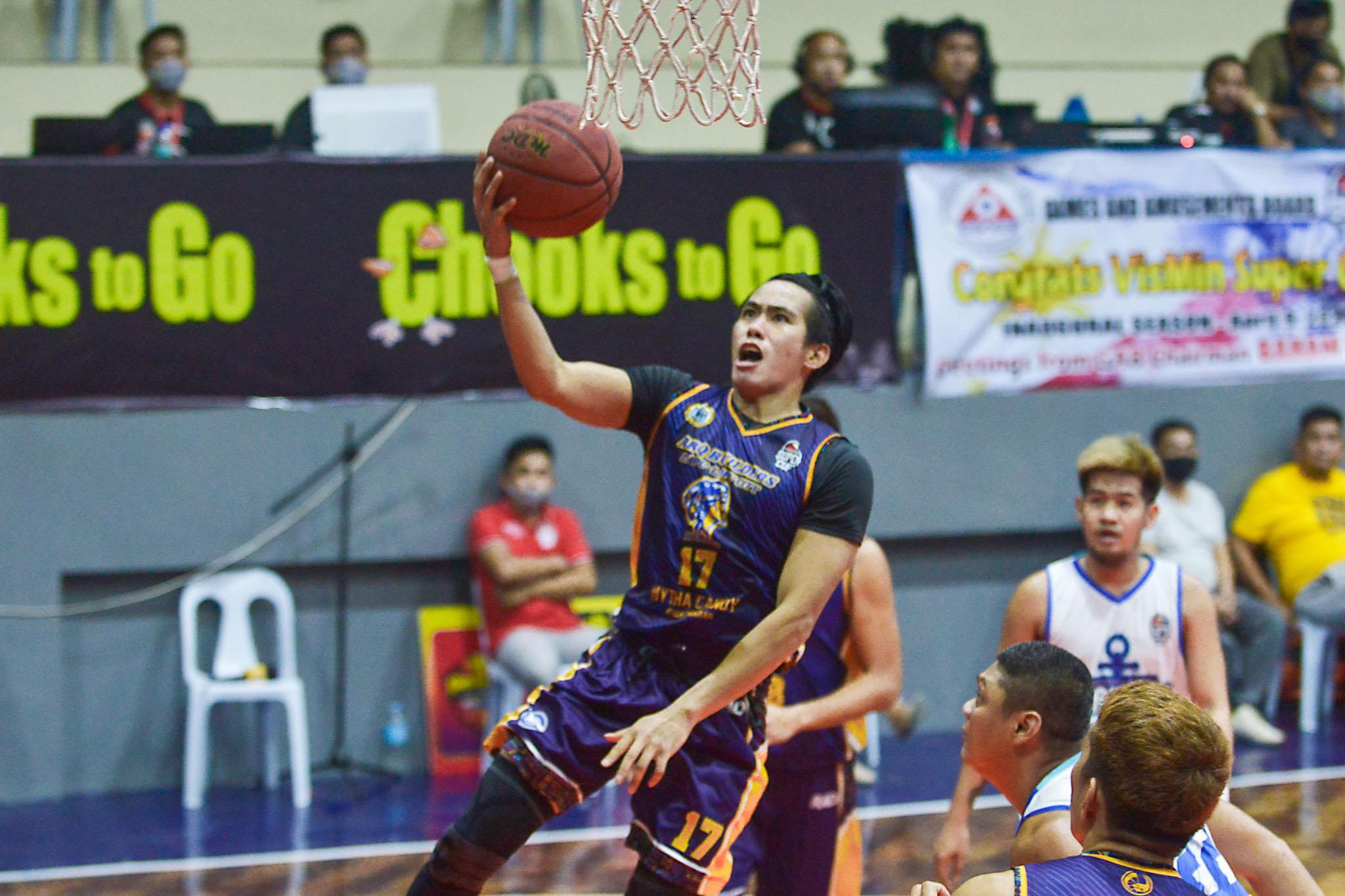 2021-Chooks-to-Go-VisMin-Cup-Tubigon-Bohol-vs-Lapu-Lapu-Rendell-Senining Senining grateful to 'second family' for helping redeem him Basketball News VisMin Super Cup  - philippine sports news