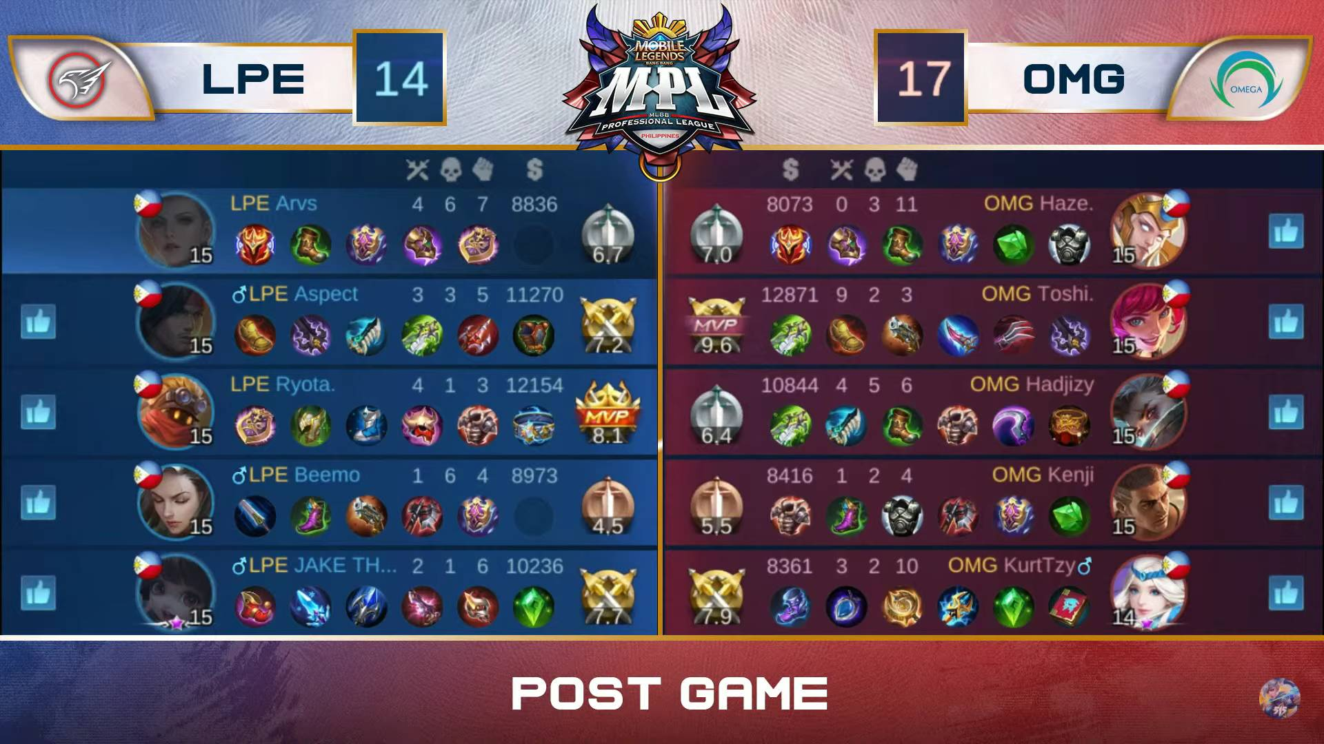 MPL-PH-7-Playbook-def-Omega-Game-3 Beemo plays hero as Playbook shocks Omega for second win in MPL-PH ESports Mobile Legends MPL-PH News  - philippine sports news