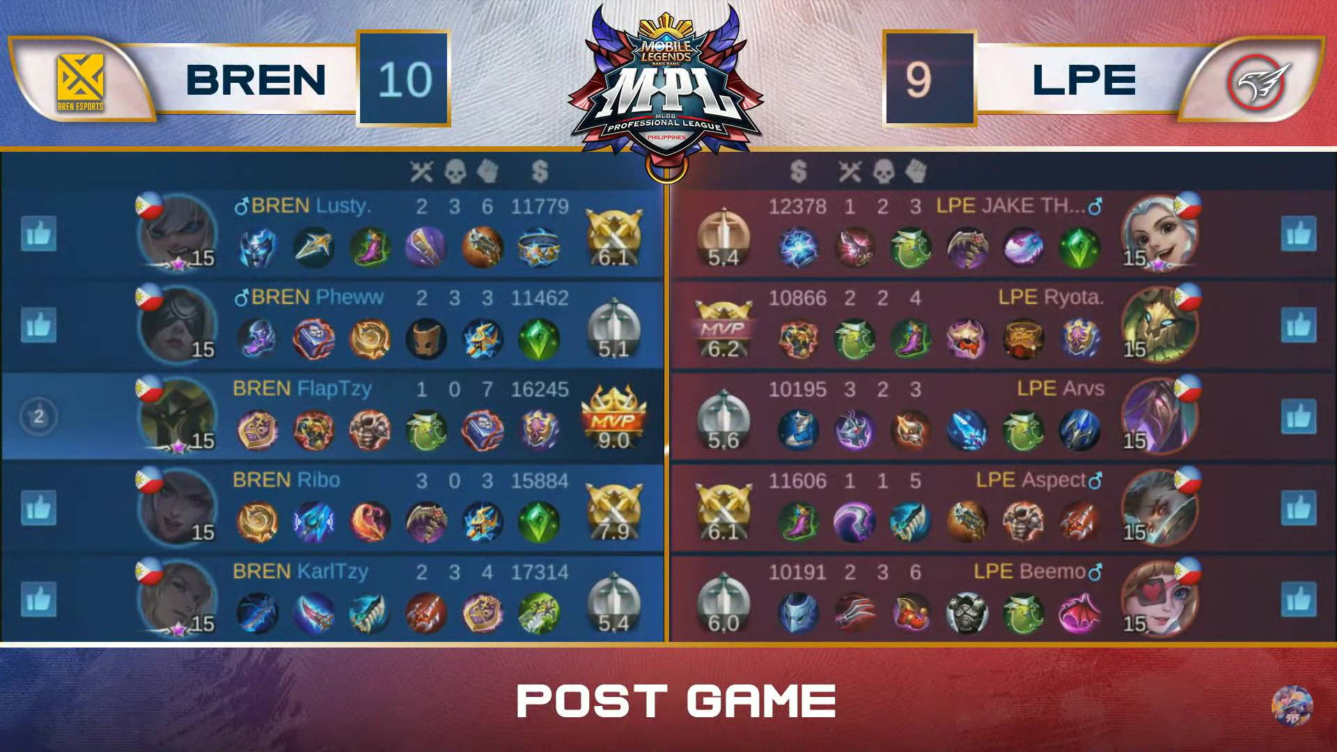 MPL-PH-Season-7-BREN-def-Playbook-Game-1 Bren vents frustration on Playbook for bounce back win in MPL PH ESports Mobile Legends MPL-PH News  - philippine sports news