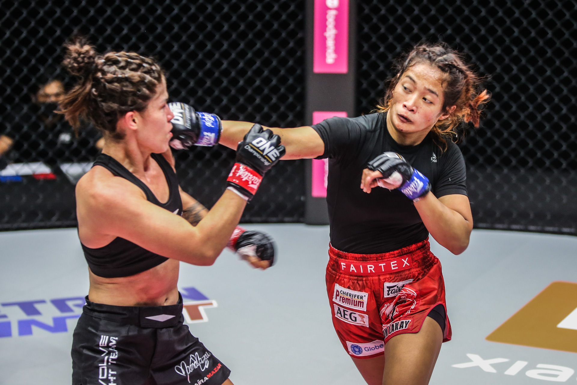 ONE-Fists-of-Fury-III-Jenelyn-Olsim-def-Maira-Mazar-punch Jenelyn Olsim gets another chance to enter ONE GP Mixed Martial Arts News ONE Championship  - philippine sports news