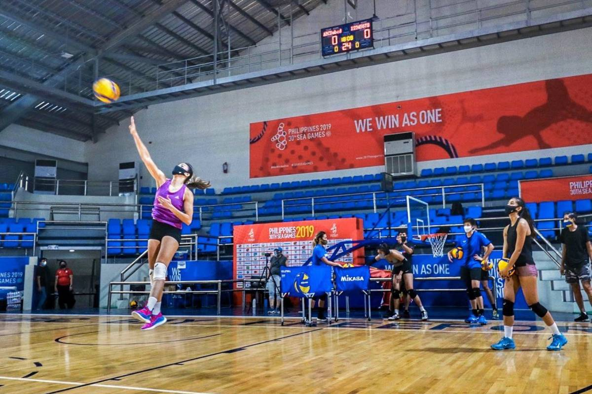 PNVF-tryout-women-aby-marano Johnvic De Guzman to let go of showbiz commitments if NT enters bubble 2021 SEA Games News Volleyball  - philippine sports news