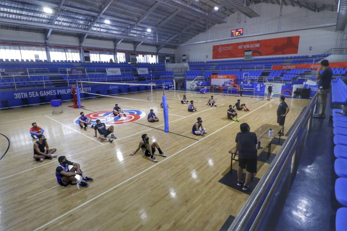 PNVF-tryouts-Mens-Tats-Suzara Alinsunurin to have good problem as 31 players show up in PNVF tryout News Volleyball  - philippine sports news