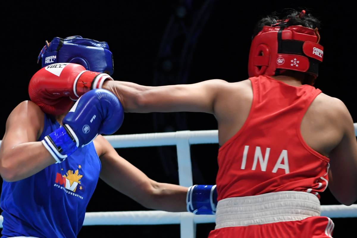 2021-Asian-Elite-Boxing-Huswatun-Hasanah-def-Maricel-De-La-Torre Durens, Ogayre assured of Asian Elite bronze after sensational wins Boxing News  - philippine sports news