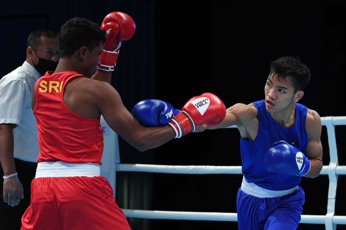 2021-Asian-Elite-Boxing-Junmilardo-Ogayre-def-Rukmal-Prasanna Durens, Ogayre assured of Asian Elite bronze after sensational wins Boxing News  - philippine sports news