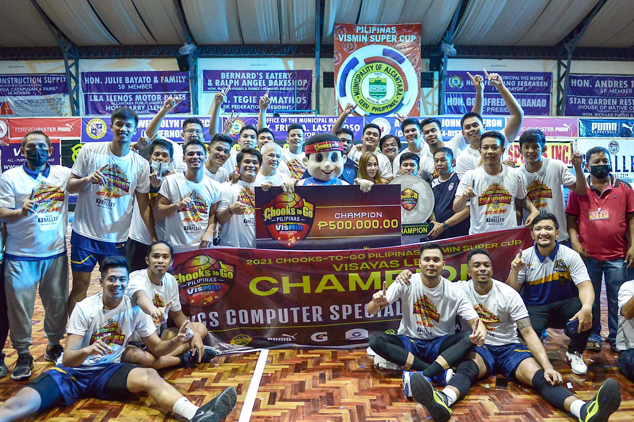 2021-Chooks-to-Go-VisMinCup-Visayas-Finals-Game-3-Talisay-vs-Mandaue-KCS-champions Mike Reyes finally finds gift of tongue brother Chot had Basketball News VisMin Super Cup  - philippine sports news