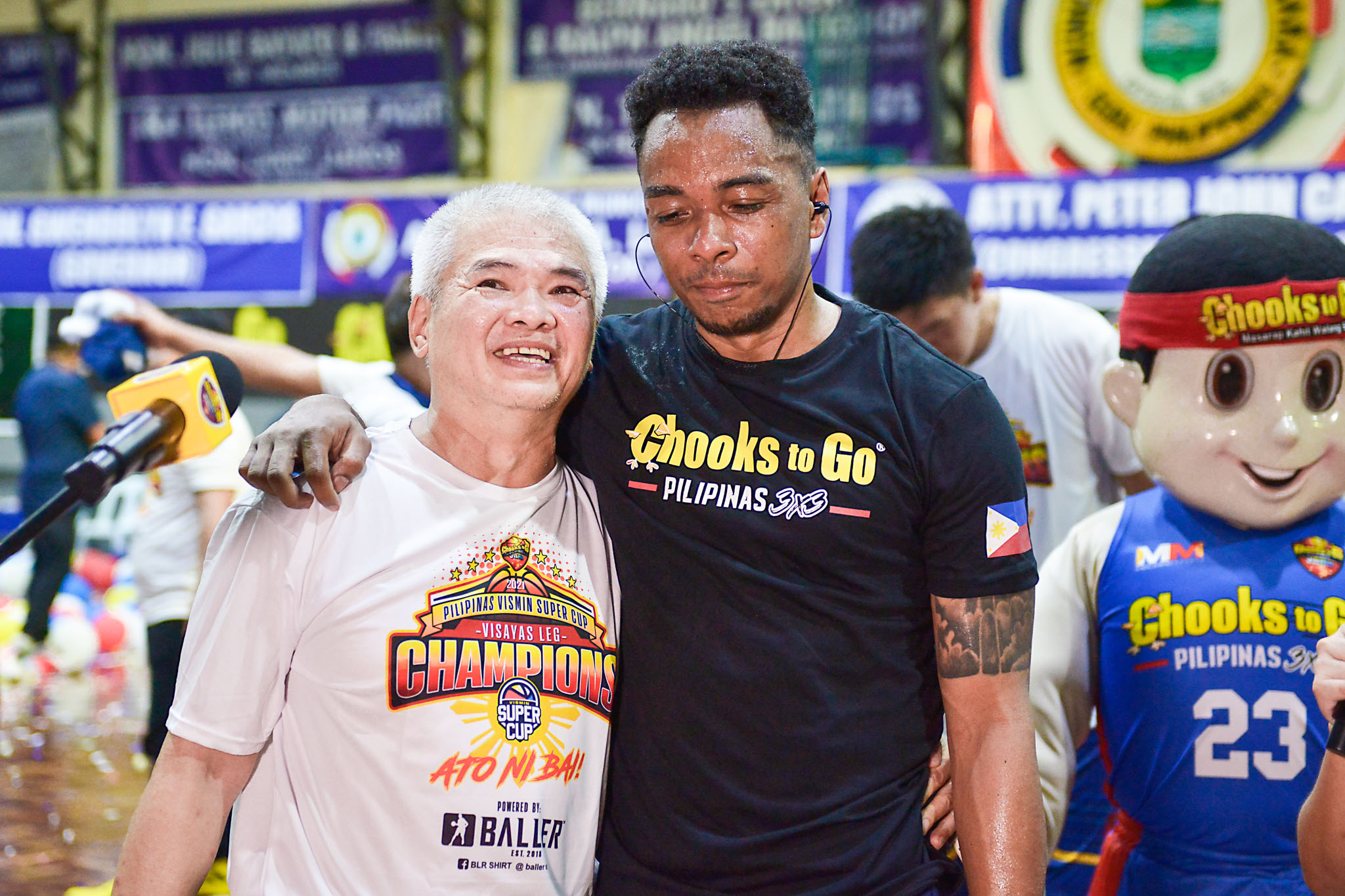 2021-Chooks-to-Go-VisMinCup-Visayas-Finals-Game-3-Talisay-vs-Mandaue-mike-reyes-and-ping-exciminiano Ping Exciminiano grateful to TNT for allowing him to play for KCS Basketball News PBA VisMin Super Cup  - philippine sports news