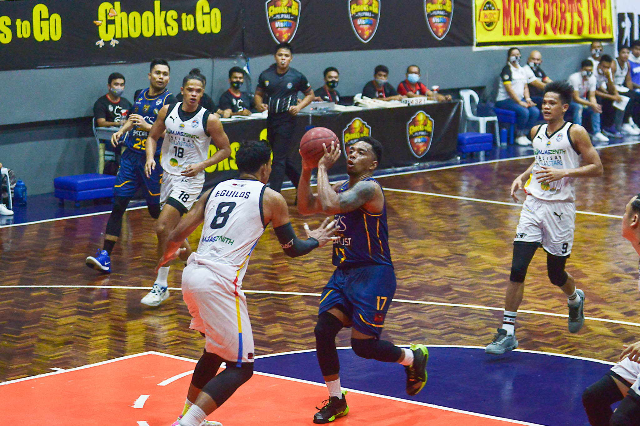 2021-Chooks-to-Go-VisMinCup-Visayas-Finals-Game-3-Talisay-vs-Mandaue-ping-exciminiano-5 Ping Exciminiano grateful to TNT for allowing him to play for KCS Basketball News PBA VisMin Super Cup  - philippine sports news