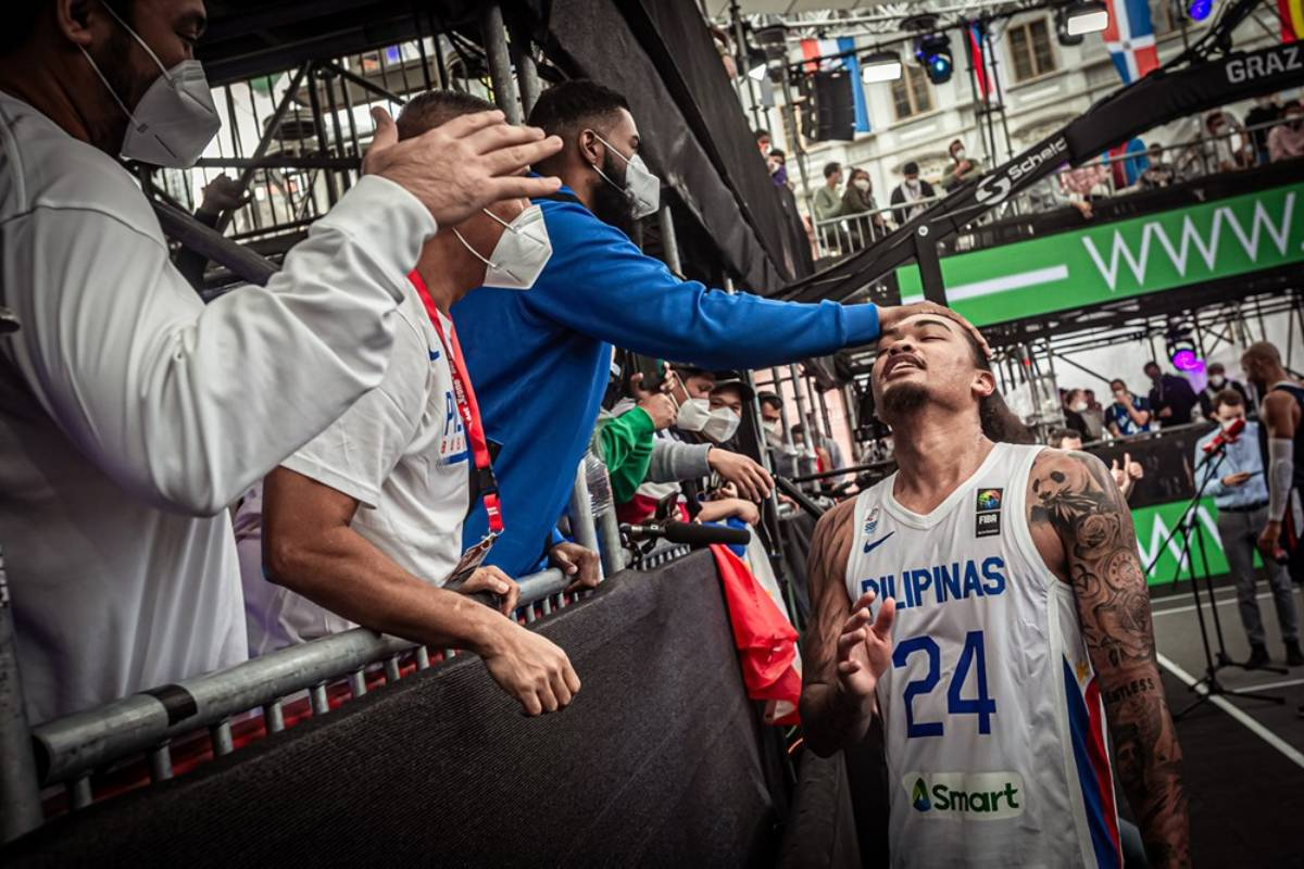 2021-FIBA-3x3-OQT-Gilas-Joshua-Munzon-2 Gilas 3x3 finishes last in OQT 2020 Tokyo Olympics 3x3 Basketball Gilas Pilipinas News  - philippine sports news