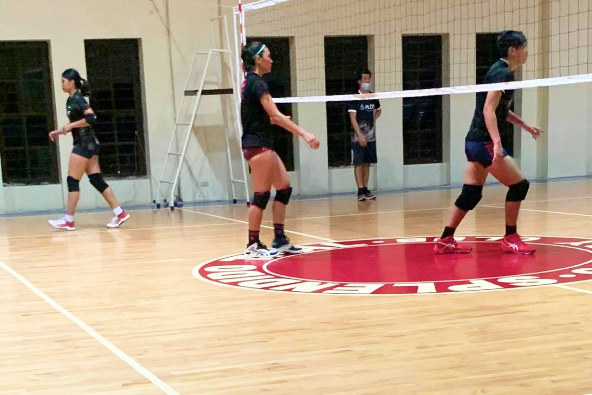 2021-PVL-Season-PLDT-camp-in-Splendido-Marist-Layug PLDT looks to shake off rust in 14-day Splendido bubble camp News PVL Volleyball  - philippine sports news