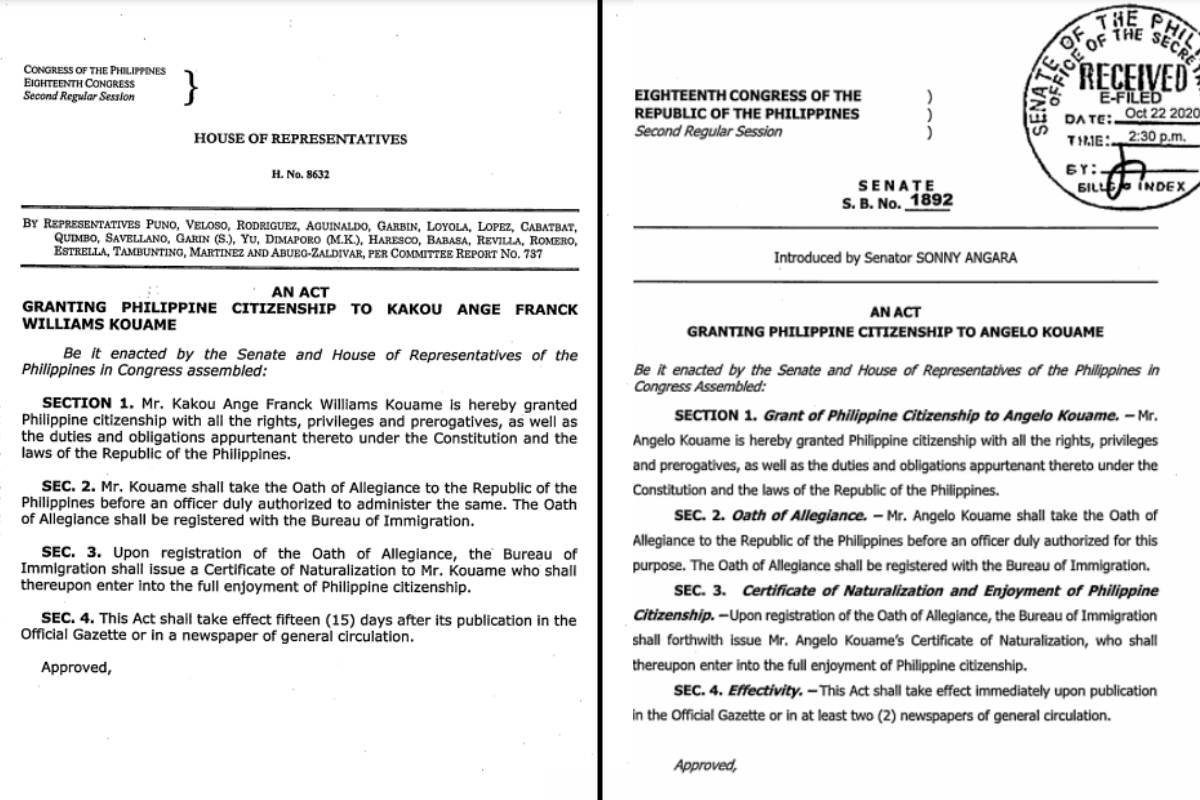 Angelo-Kouame-amendments What happened to Bienve Maranon's naturalization? Football News Philippine Azkals  - philippine sports news